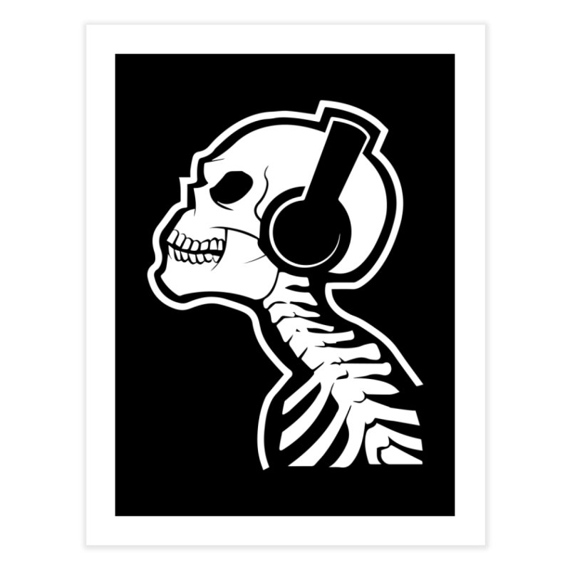 Music To The Bones Home Fine Art Print by RojoSalgado's Artist Shop