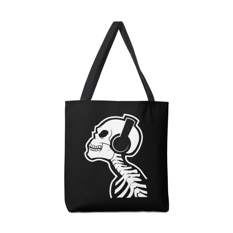 Music To The Bones Accessories Bag by RojoSalgado's Artist Shop