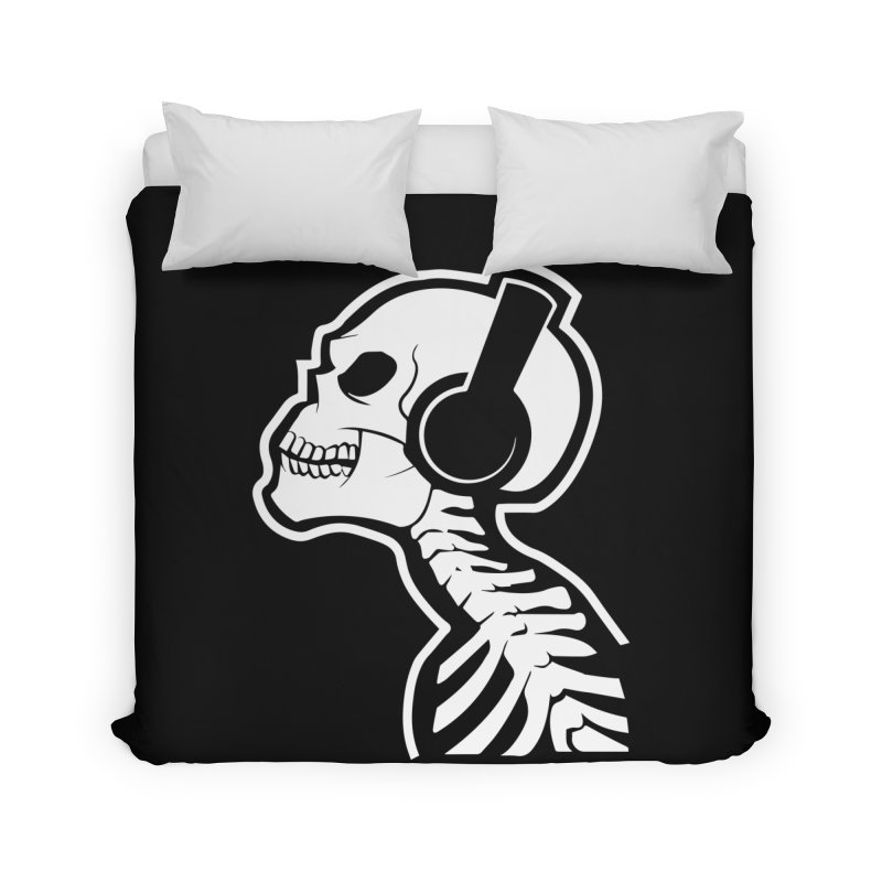 Music To The Bones Home Duvet by RojoSalgado's Artist Shop