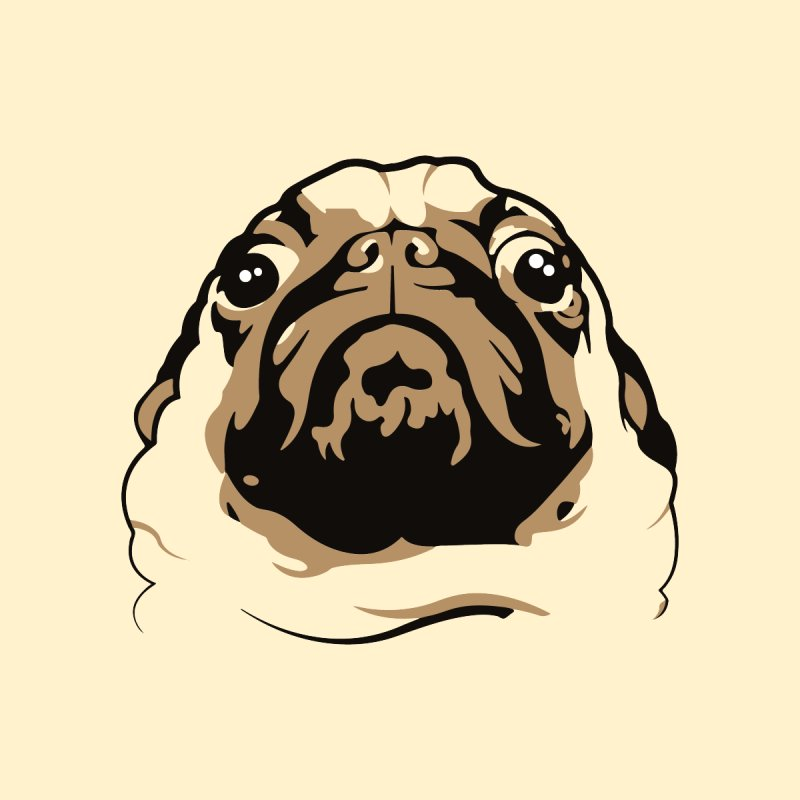 Pug My Life by RojoSalgado's Artist Shop