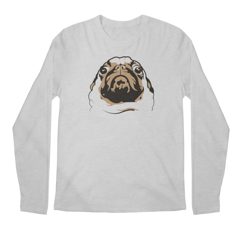 Pug My Life Men's Longsleeve T-Shirt by RojoSalgado's Artist Shop
