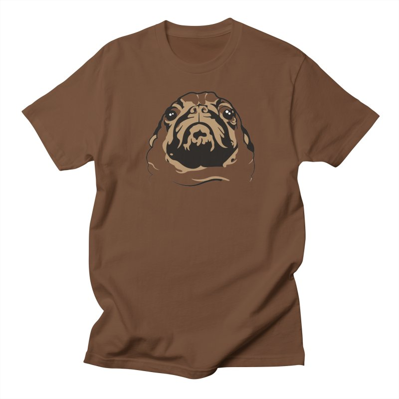 Pug My Life Women's Unisex T-Shirt by RojoSalgado's Artist Shop