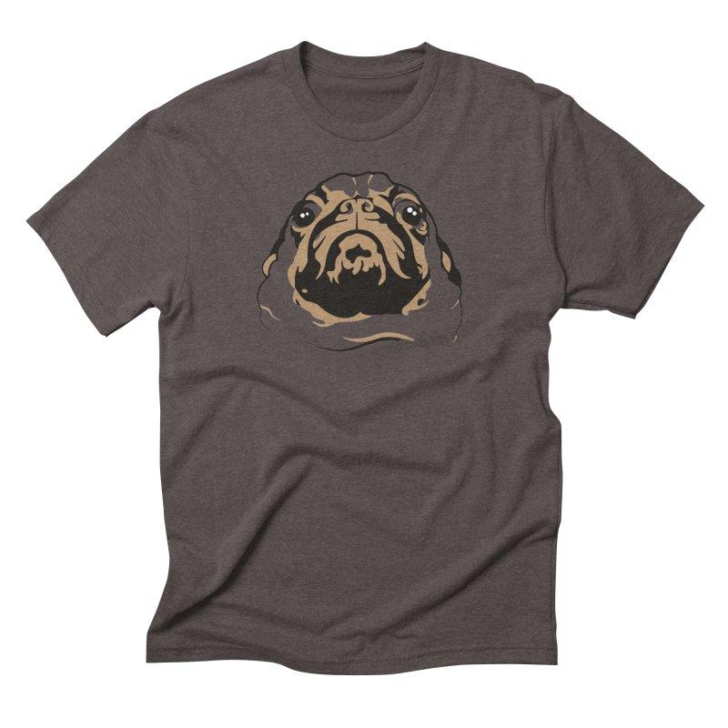 Pug My Life Men's Triblend T-Shirt by RojoSalgado's Artist Shop