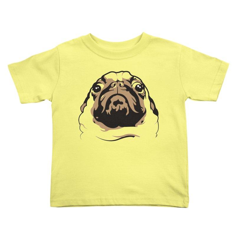 Pug My Life Kids Toddler T-Shirt by RojoSalgado's Artist Shop