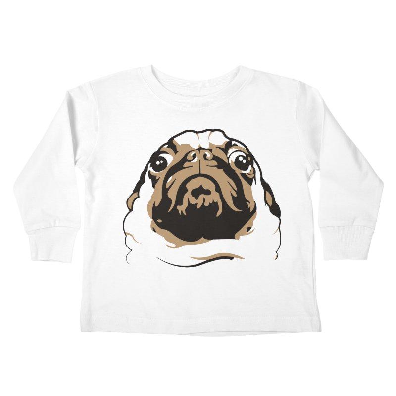 Pug My Life Kids Toddler Longsleeve T-Shirt by RojoSalgado's Artist Shop