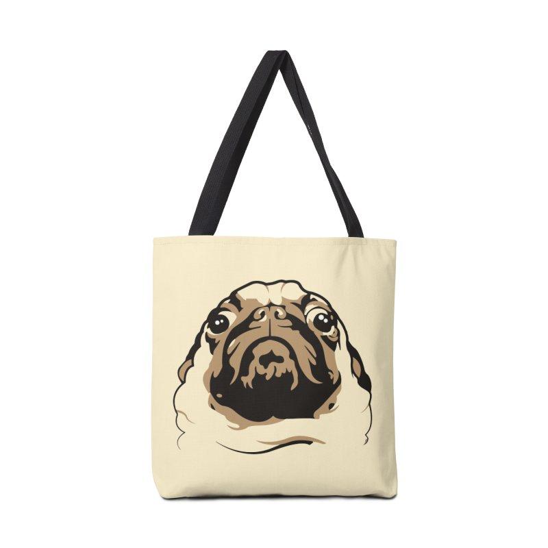 Pug My Life Accessories Bag by RojoSalgado's Artist Shop