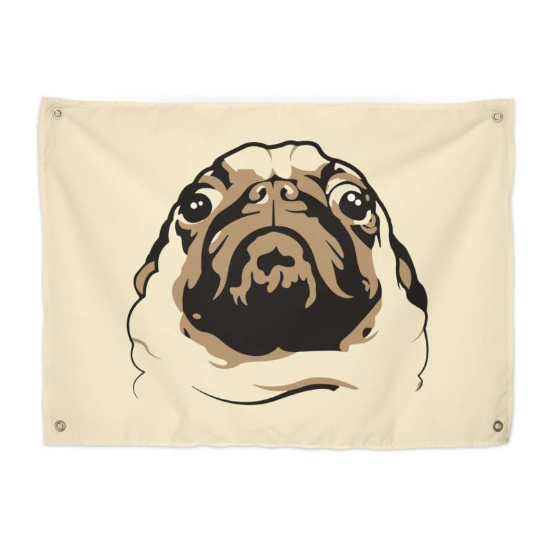 Pug My Life Home Tapestry by RojoSalgado's Artist Shop