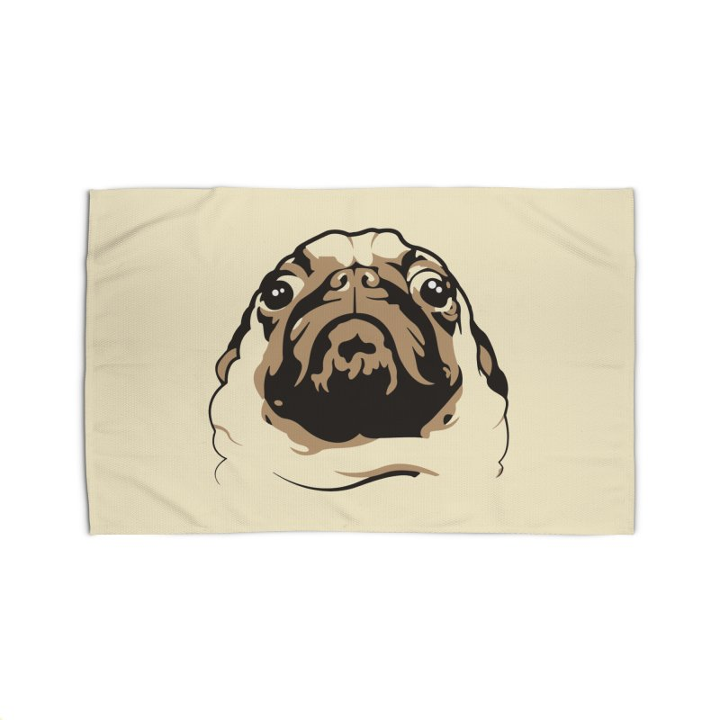 Pug My Life Home Rug by RojoSalgado's Artist Shop