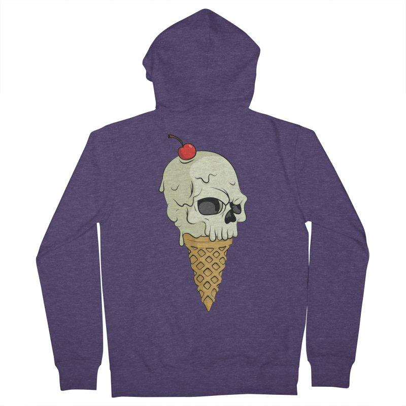 Death Dessert Men's Zip-Up Hoody by RojoSalgado's Artist Shop