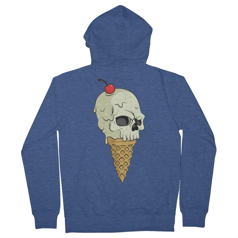 Death Dessert Men's Zip-Up Hoody by RojoSalgado's Artist Shop