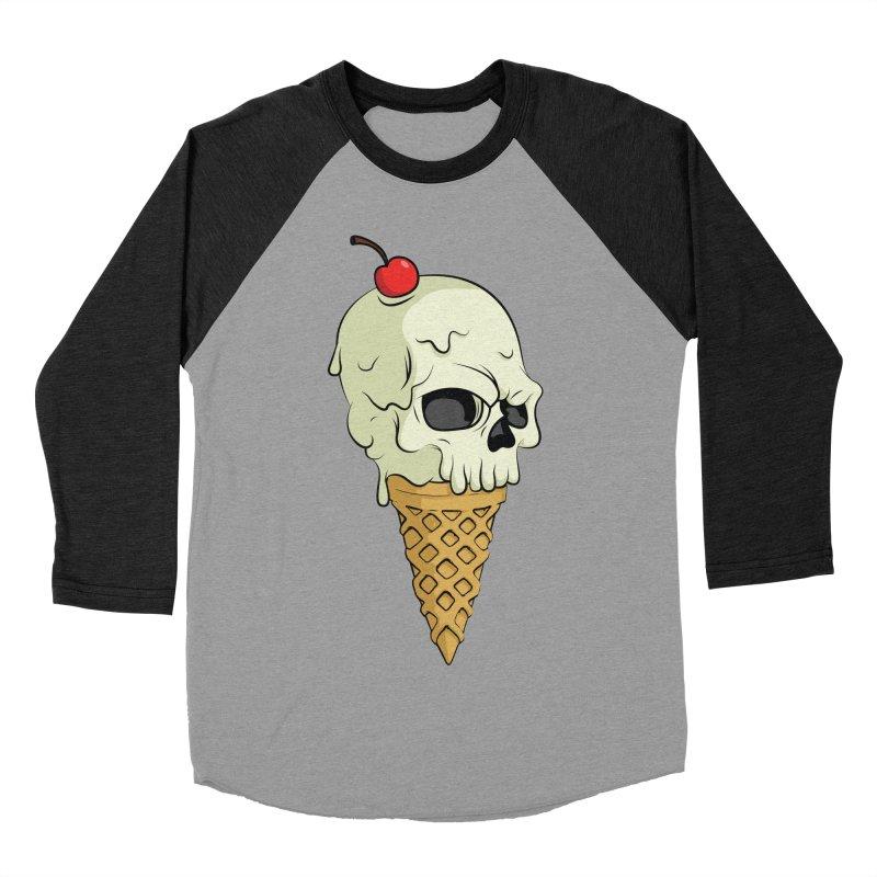 Death Dessert Women's Baseball Triblend T-Shirt by RojoSalgado's Artist Shop