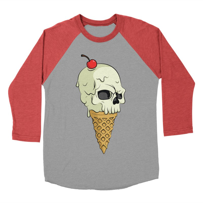 Death Dessert Men's Baseball Triblend T-Shirt by RojoSalgado's Artist Shop