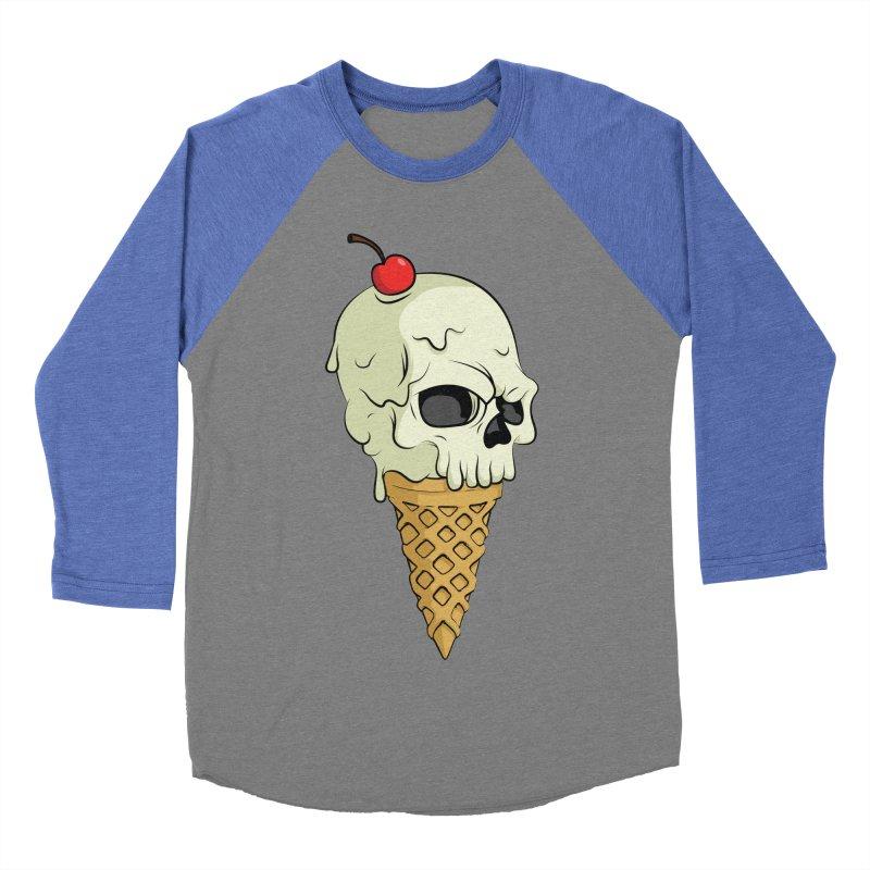 Death Dessert Men's Baseball Triblend T-Shirt by RojoSalgado's Artist Shop