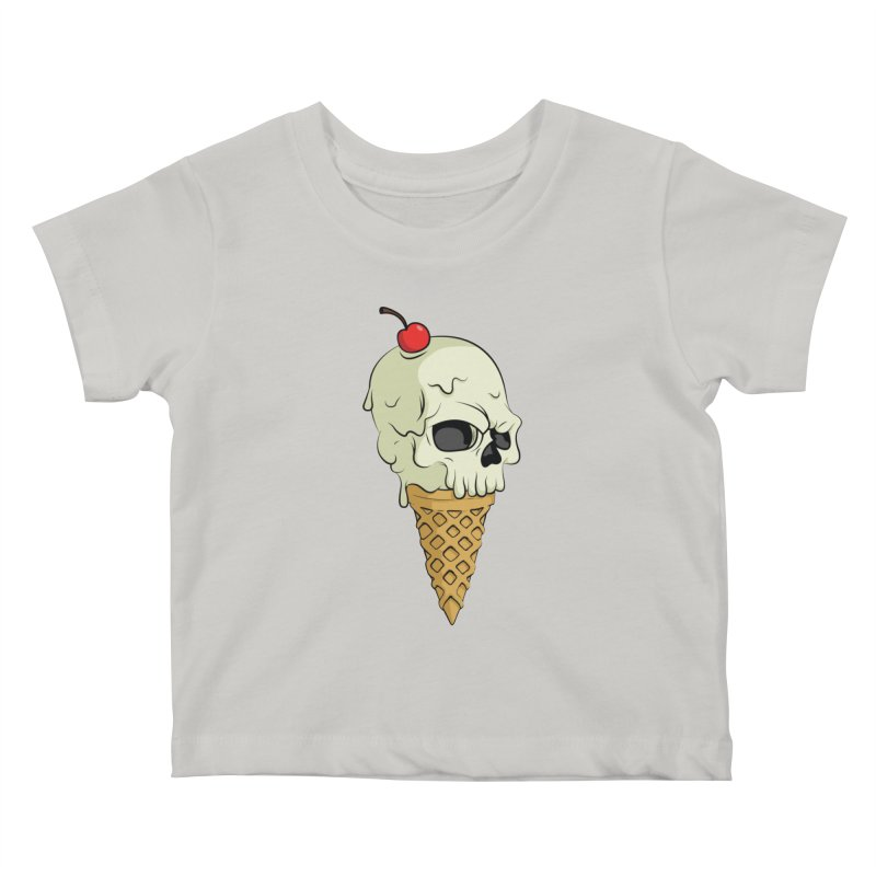 Death Dessert Kids Baby T-Shirt by RojoSalgado's Artist Shop