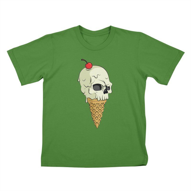 Death Dessert Kids T-shirt by RojoSalgado's Artist Shop