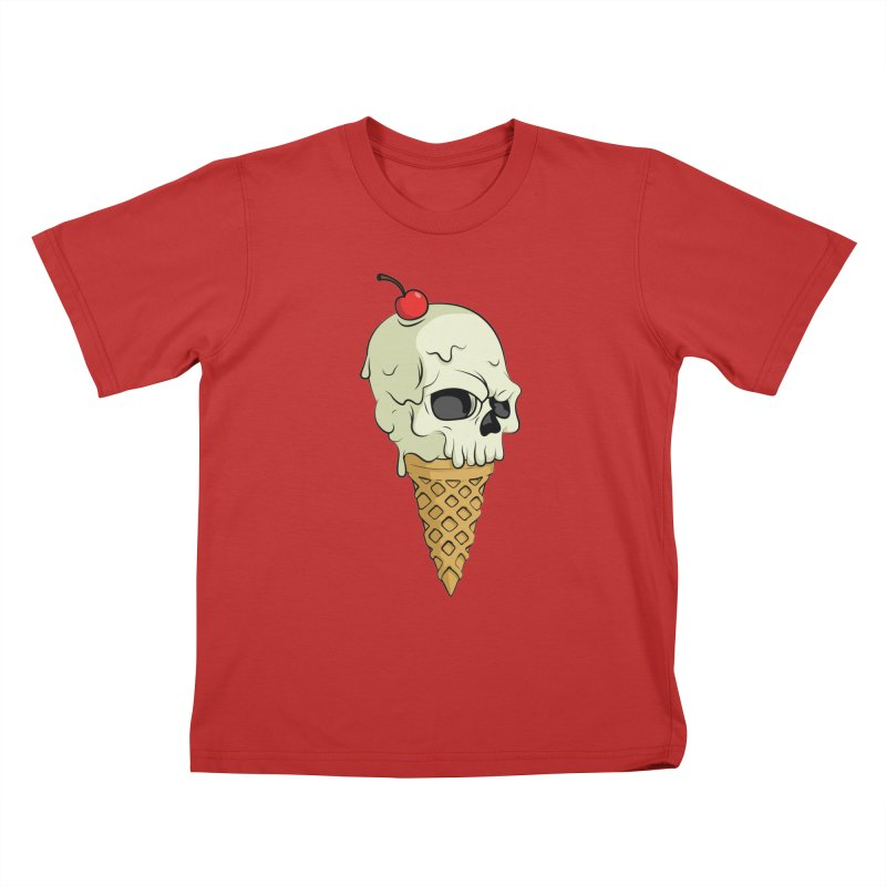 Death Dessert Kids T-Shirt by RojoSalgado's Artist Shop