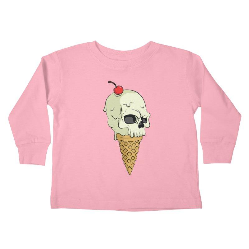 Death Dessert Kids Toddler Longsleeve T-Shirt by RojoSalgado's Artist Shop