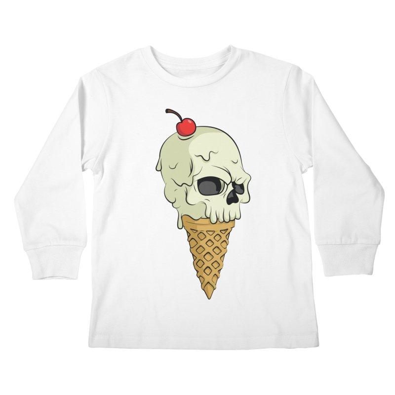 Death Dessert Kids Longsleeve T-Shirt by RojoSalgado's Artist Shop