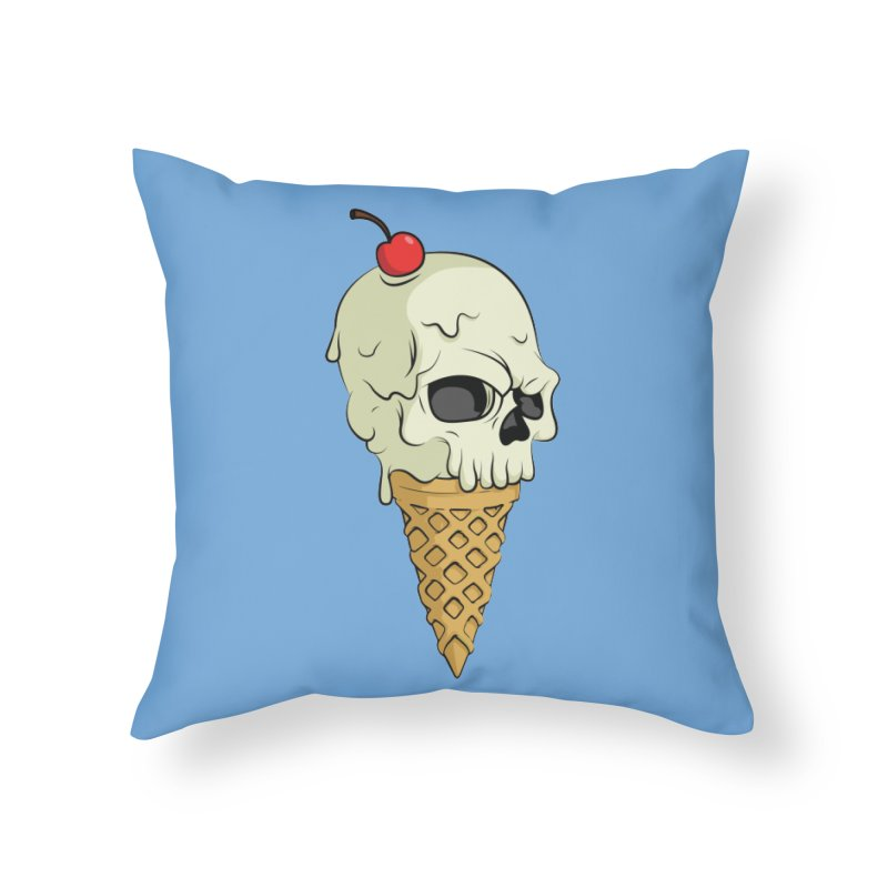 Death Dessert Home Throw Pillow by RojoSalgado's Artist Shop