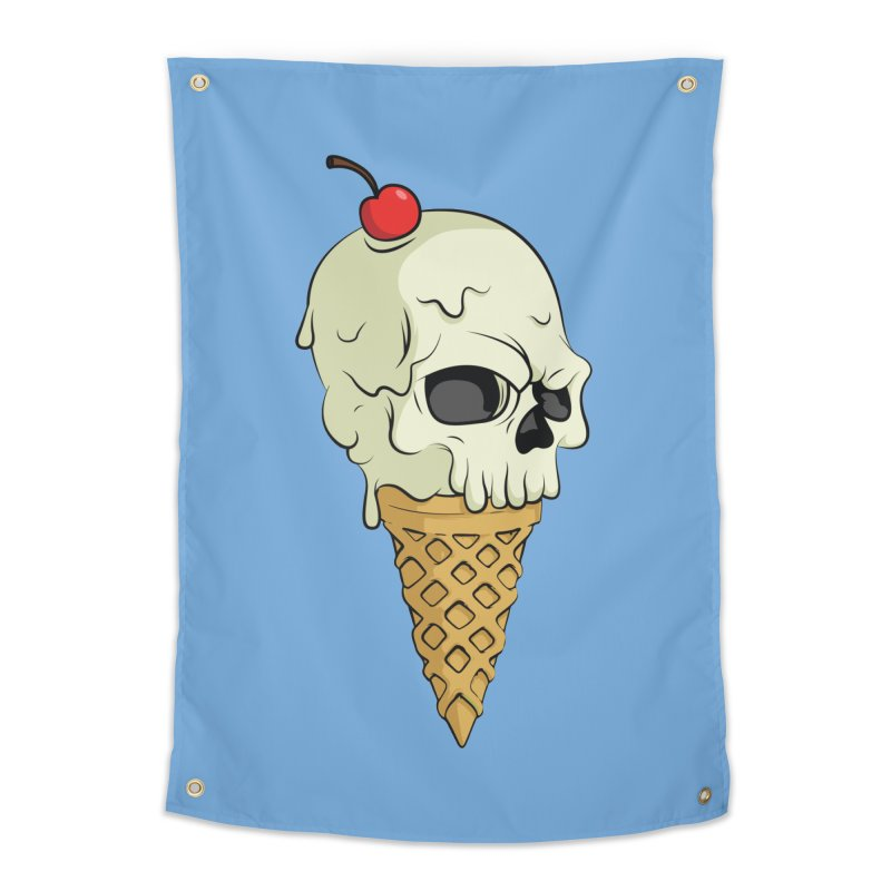 Death Dessert Home Tapestry by RojoSalgado's Artist Shop