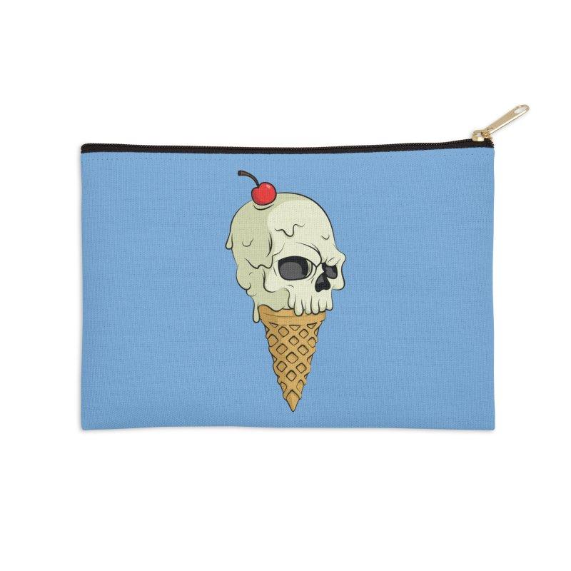 Death Dessert Accessories Zip Pouch by RojoSalgado's Artist Shop