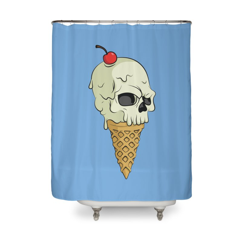 Death Dessert Home Shower Curtain by RojoSalgado's Artist Shop