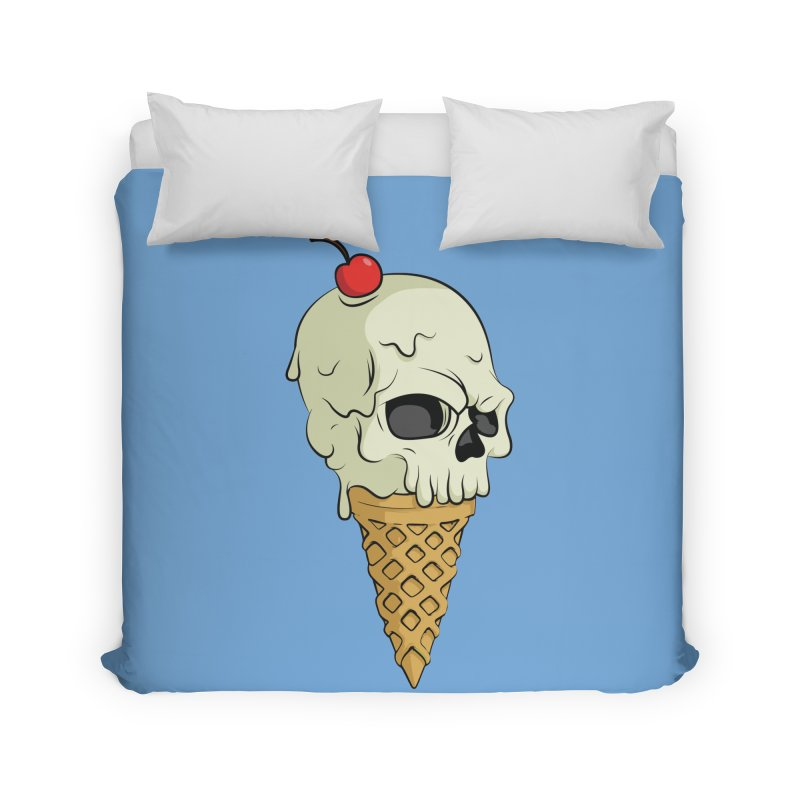 Death Dessert Home Duvet by RojoSalgado's Artist Shop