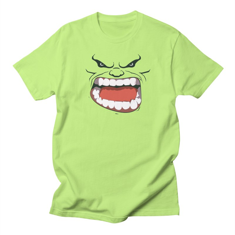 Green and angry Women's Unisex T-Shirt by RojoSalgado's Artist Shop