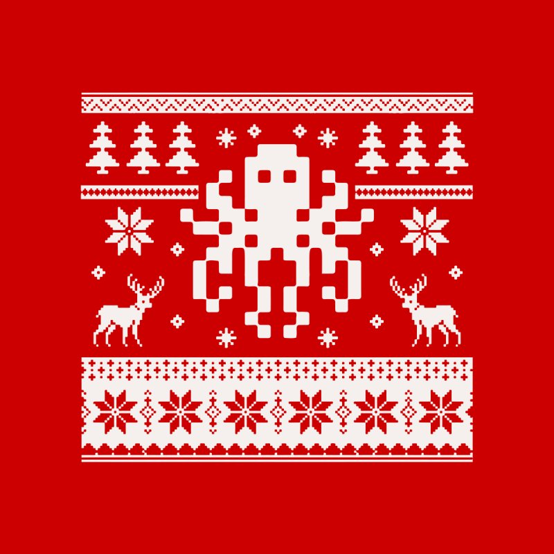Octugly Christmas Sweater None  by RojoSalgado's Artist Shop