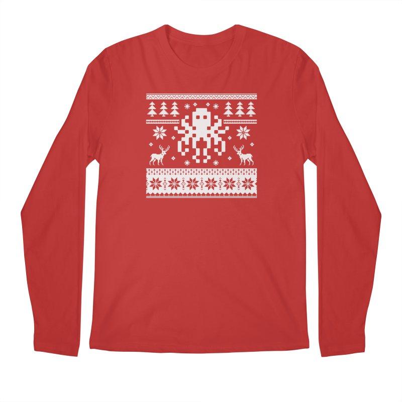 Octugly Christmas Sweater Men's Longsleeve T-Shirt by RojoSalgado's Artist Shop