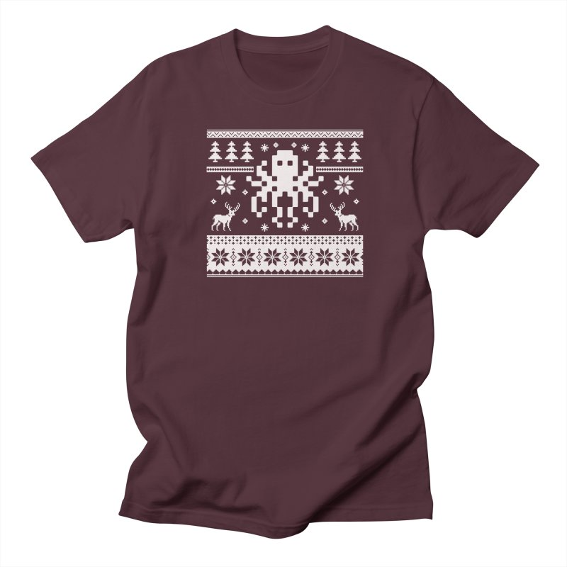 Octugly Christmas Sweater Men's T-shirt by RojoSalgado's Artist Shop
