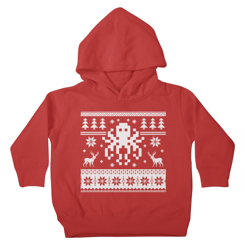 Octugly Christmas Sweater Kids Toddler Pullover Hoody by RojoSalgado's Artist Shop