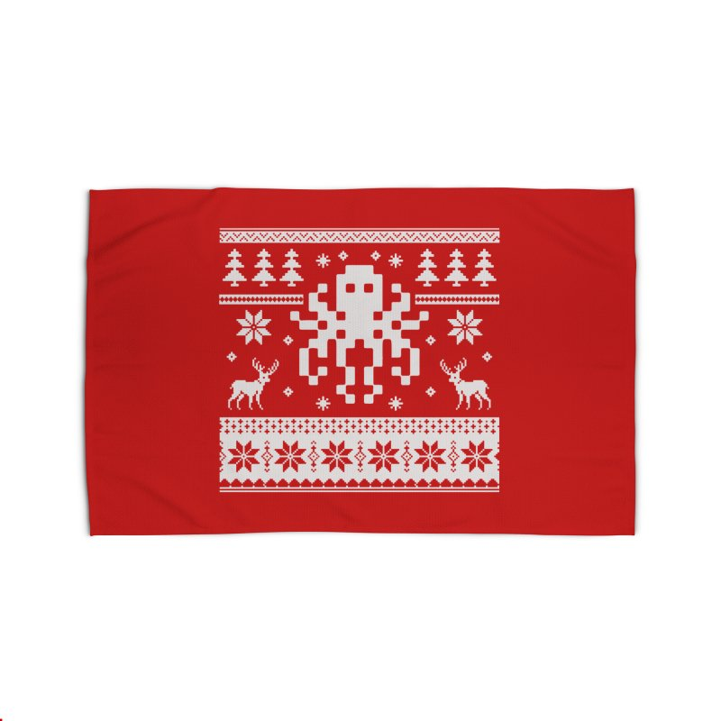 Octugly Christmas Sweater Home Rug by RojoSalgado's Artist Shop