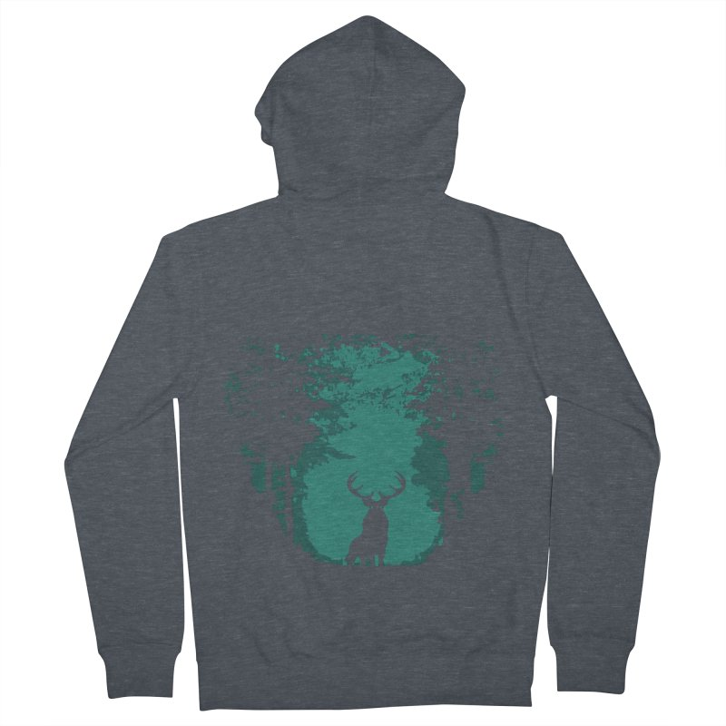 Forest Women's Zip-Up Hoody by RojoSalgado's Artist Shop