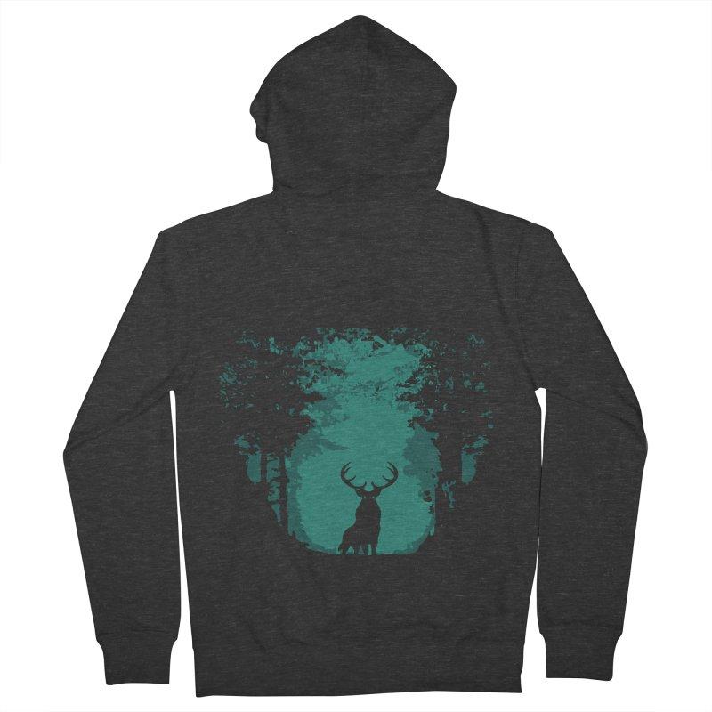 Forest Men's Zip-Up Hoody by RojoSalgado's Artist Shop
