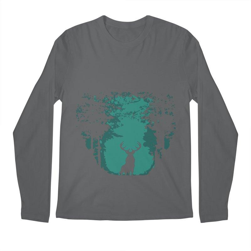 Forest Men's Longsleeve T-Shirt by RojoSalgado's Artist Shop