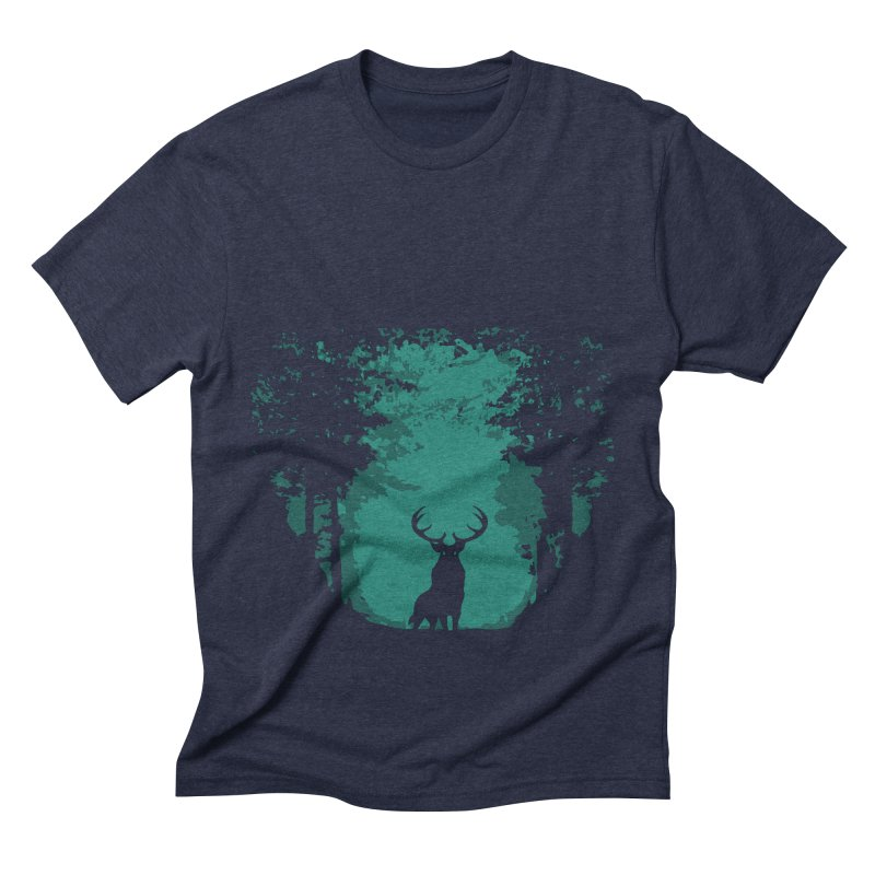 Forest Men's Triblend T-Shirt by RojoSalgado's Artist Shop