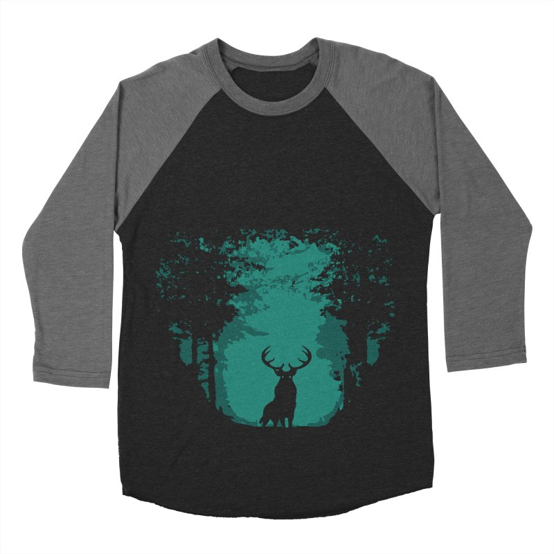 Forest Women's Baseball Triblend T-Shirt by RojoSalgado's Artist Shop