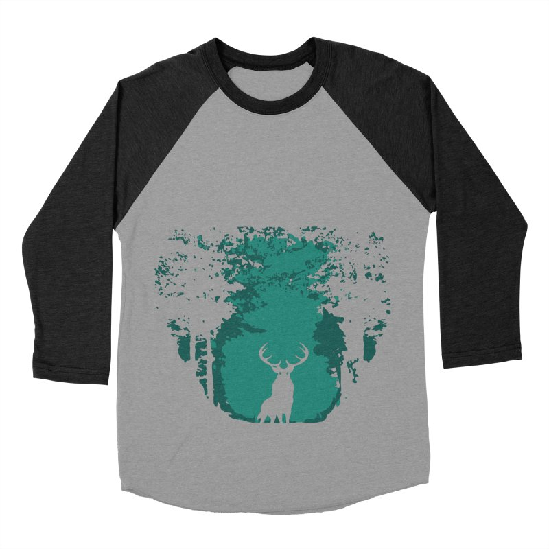Forest Men's Baseball Triblend T-Shirt by RojoSalgado's Artist Shop