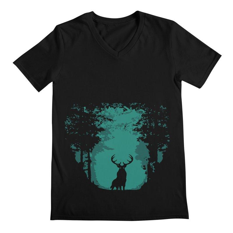 Forest Men's V-Neck by RojoSalgado's Artist Shop