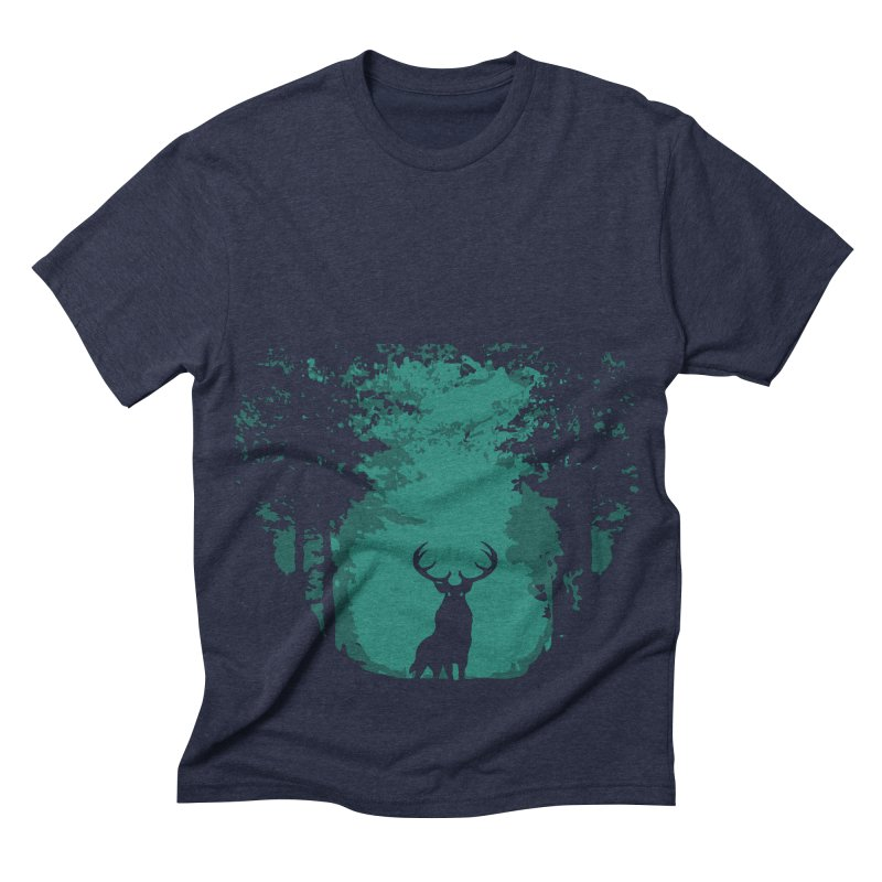 Forest Men's Triblend T-shirt by RojoSalgado's Artist Shop