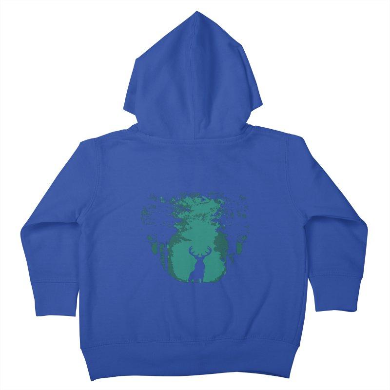 Forest Kids Toddler Zip-Up Hoody by RojoSalgado's Artist Shop