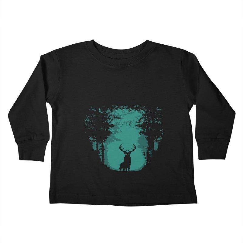 Forest Kids Toddler Longsleeve T-Shirt by RojoSalgado's Artist Shop