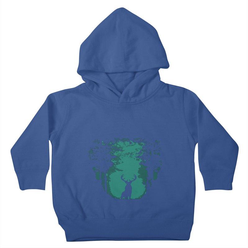 Forest Kids Toddler Pullover Hoody by RojoSalgado's Artist Shop