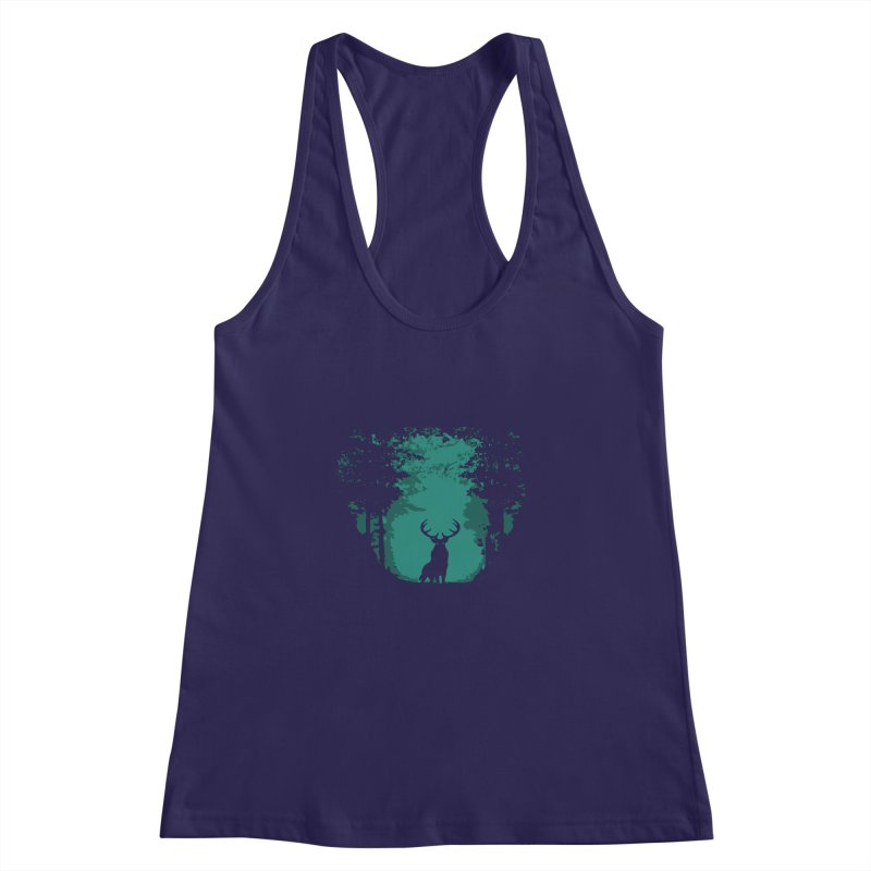 Forest Women's Racerback Tank by RojoSalgado's Artist Shop