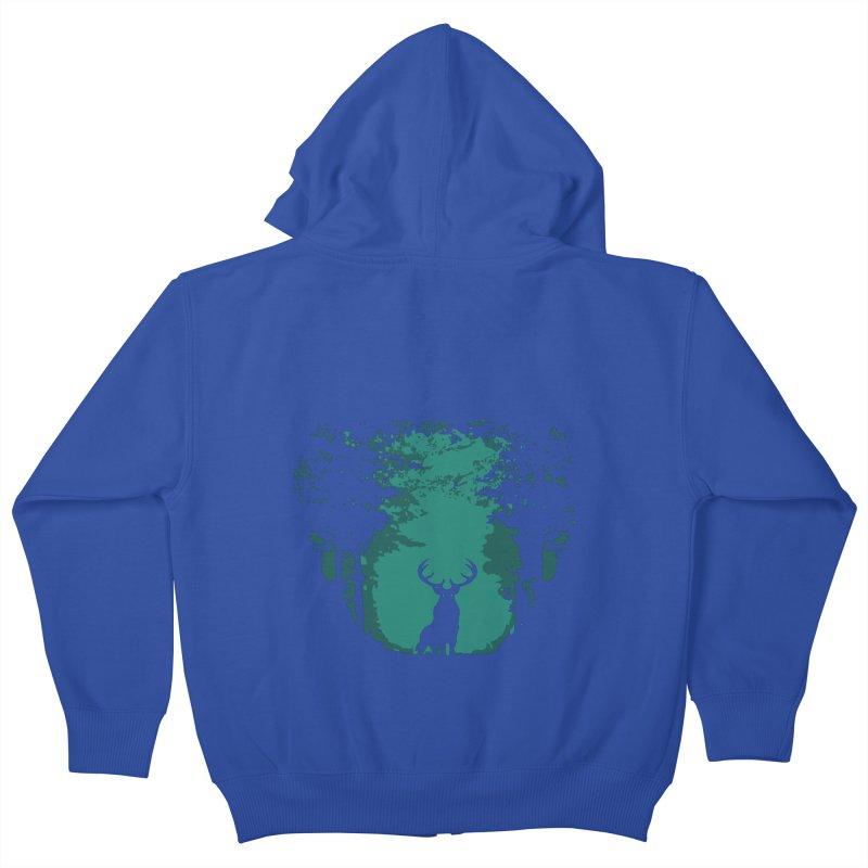 Forest Kids Zip-Up Hoody by RojoSalgado's Artist Shop