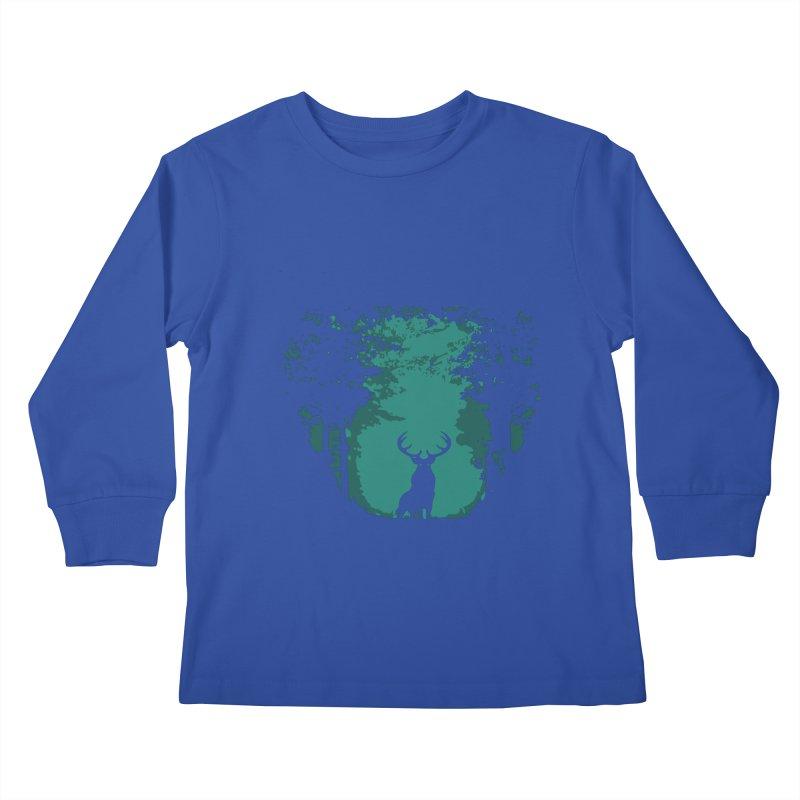 Forest Kids Longsleeve T-Shirt by RojoSalgado's Artist Shop