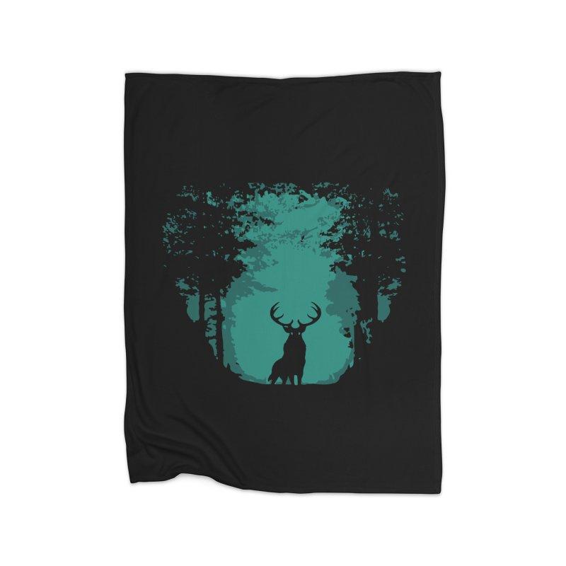 Forest Home Blanket by RojoSalgado's Artist Shop