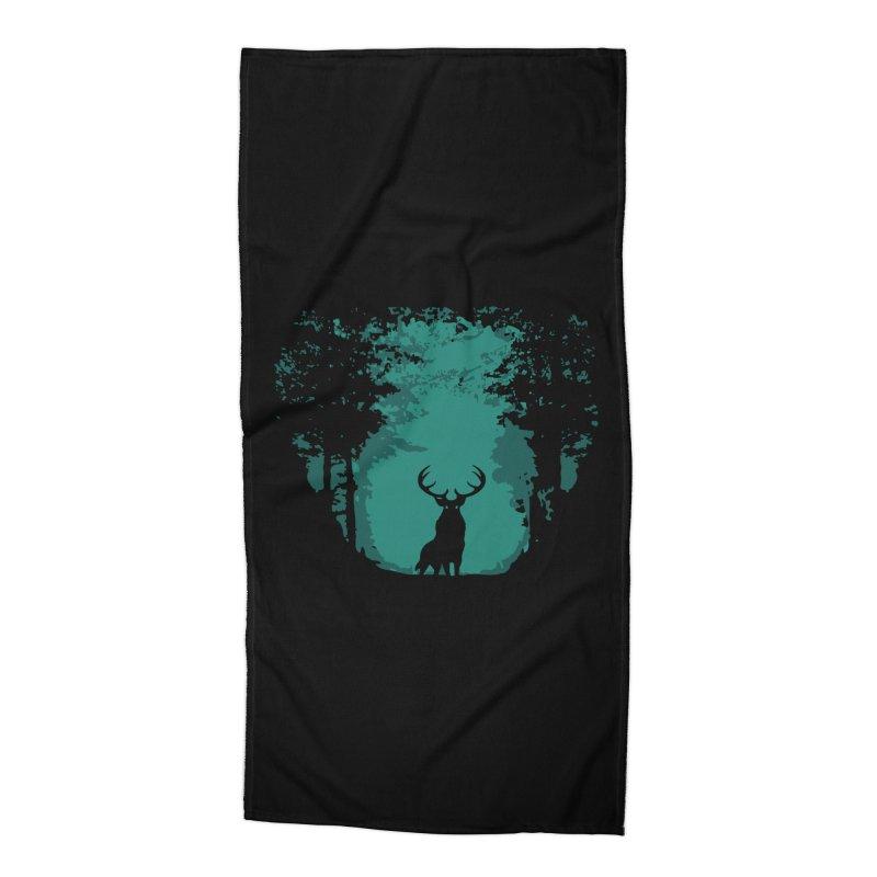 Forest Accessories Beach Towel by RojoSalgado's Artist Shop