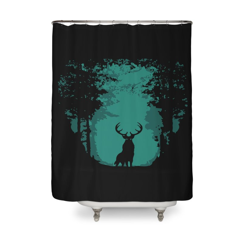 Forest Home Shower Curtain by RojoSalgado's Artist Shop